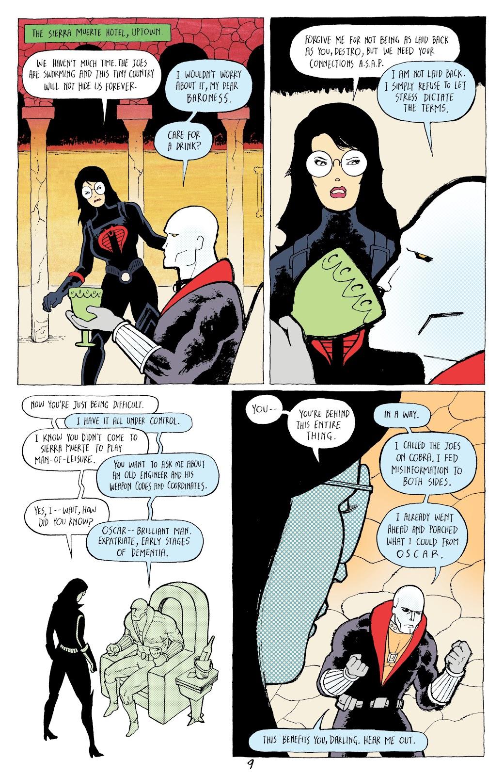 Read online G.I. Joe: Sierra Muerte comic -  Issue #2 - 11