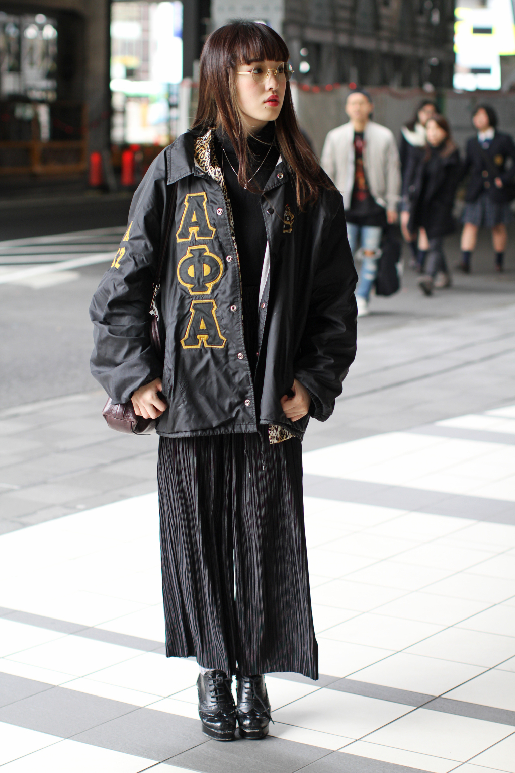 Tokyo Fashion Week Fall 2016 Street Style Part 1
