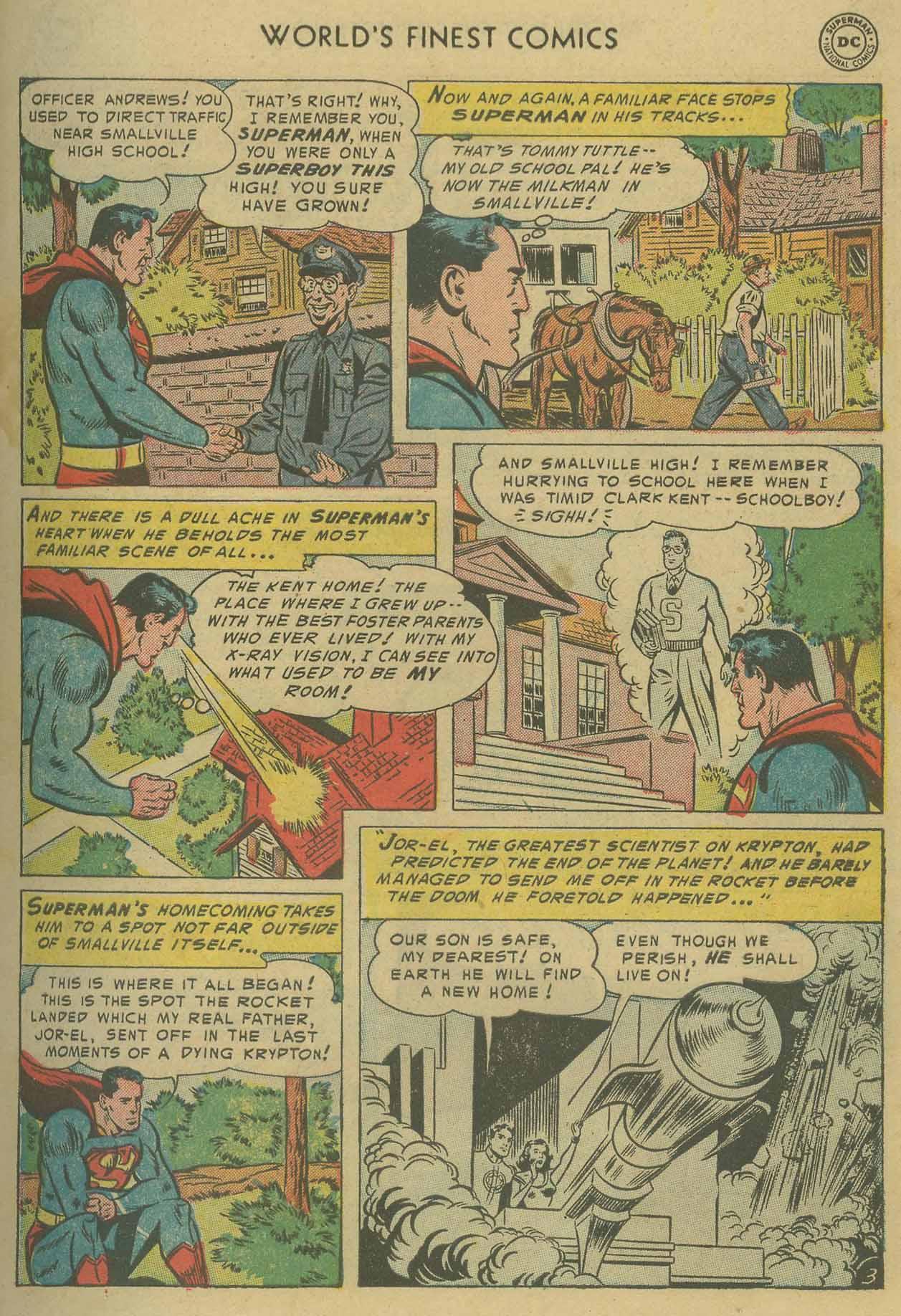 Read online World's Finest Comics comic -  Issue #69 - 5