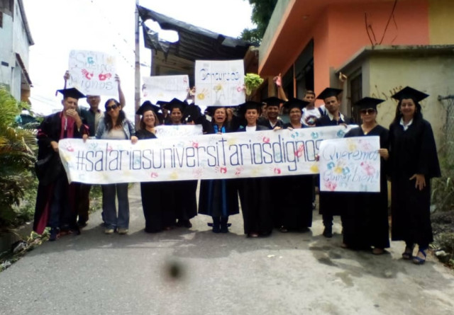 Este lunes comenzó un paro de 24h en 18 universidades del país y se convocó a una protesta para el 26Jun
