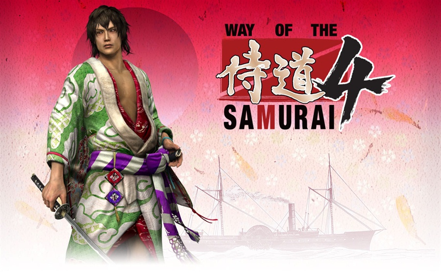 Way of the Samurai 4 PC Download Poster