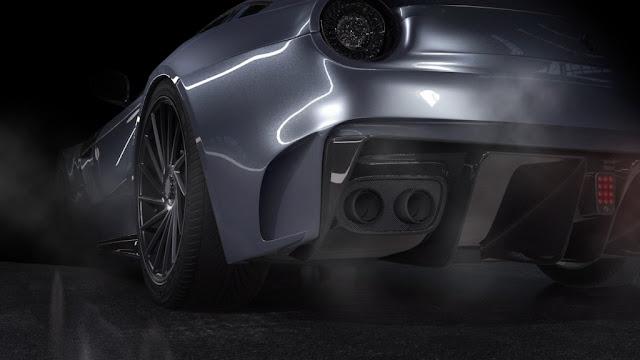 Bengala Ferrari F12 Caballería - La reducción del peso mejorará el rendimiento