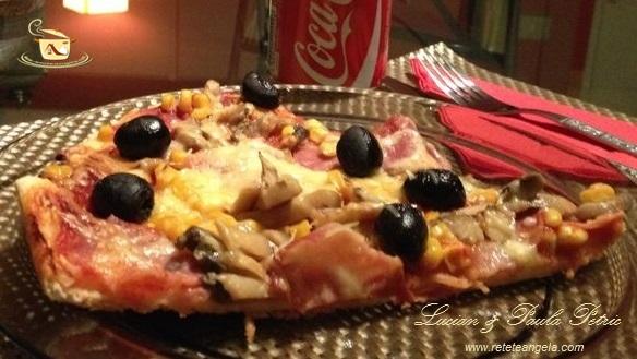 Reteta pizza, preparat pizza ilustrat