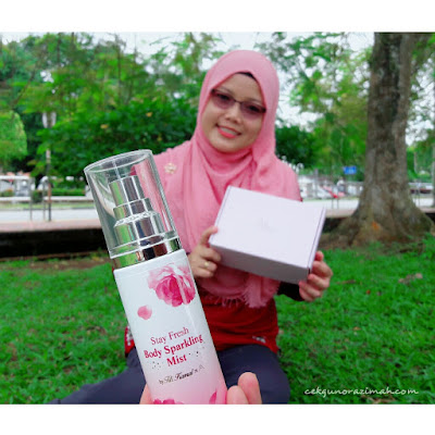 Althea Stay Fresh Body Sparkling Mist, althea x titi kamal, titi kamal, body mist titi kamal, Body Sparkling Mist, Body Sparkling Mist review, althea review, harga Stay Fresh Body Sparkling Mist