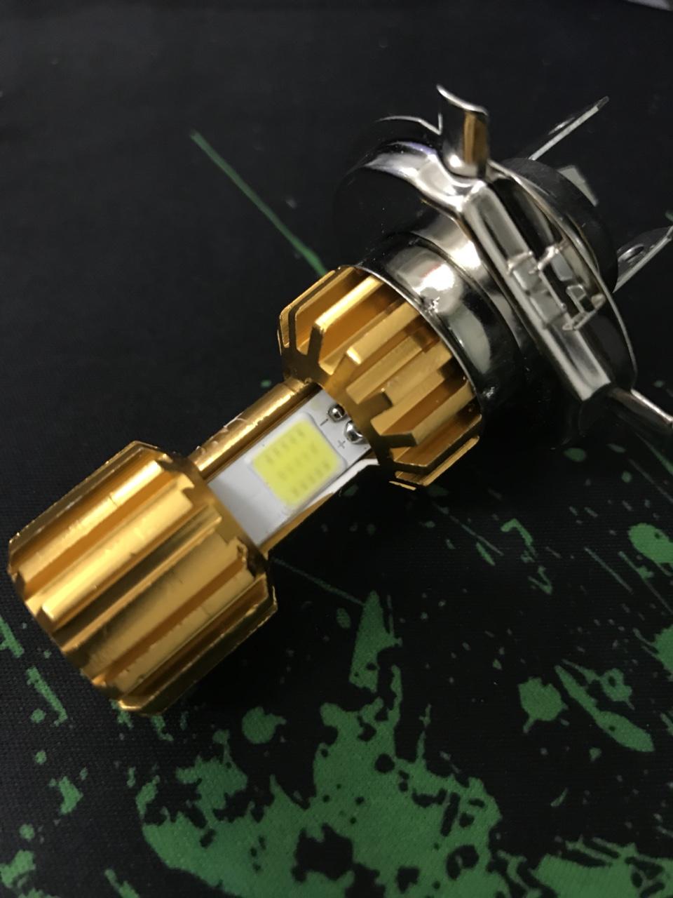 53k - Đèn pha led xe siêu sáng 3 chân (xe đời mới) giá sỉ và lẻ rẻ nhất