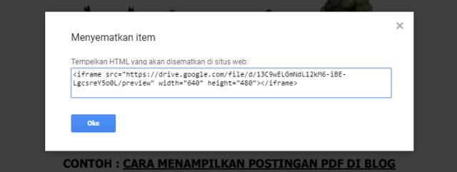 Amaterasu Blog akan mengulas tutorial tentang Cara Menampilkan File PDF di Postingan Blog Platform Blogger/Blogspot