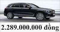 Giá xe Mercedes GLC 300 4MATIC 2019