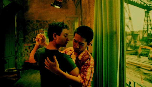 tony leung leslie cheung happy together