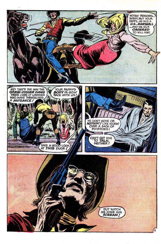 Weird Western Tales v1 #15 dc el diablo 1970s bronze age comic book page art by Neal Adams