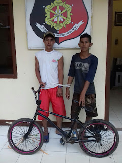 Curi Sepeda, Dua Pemuda Tanggung Diringkus