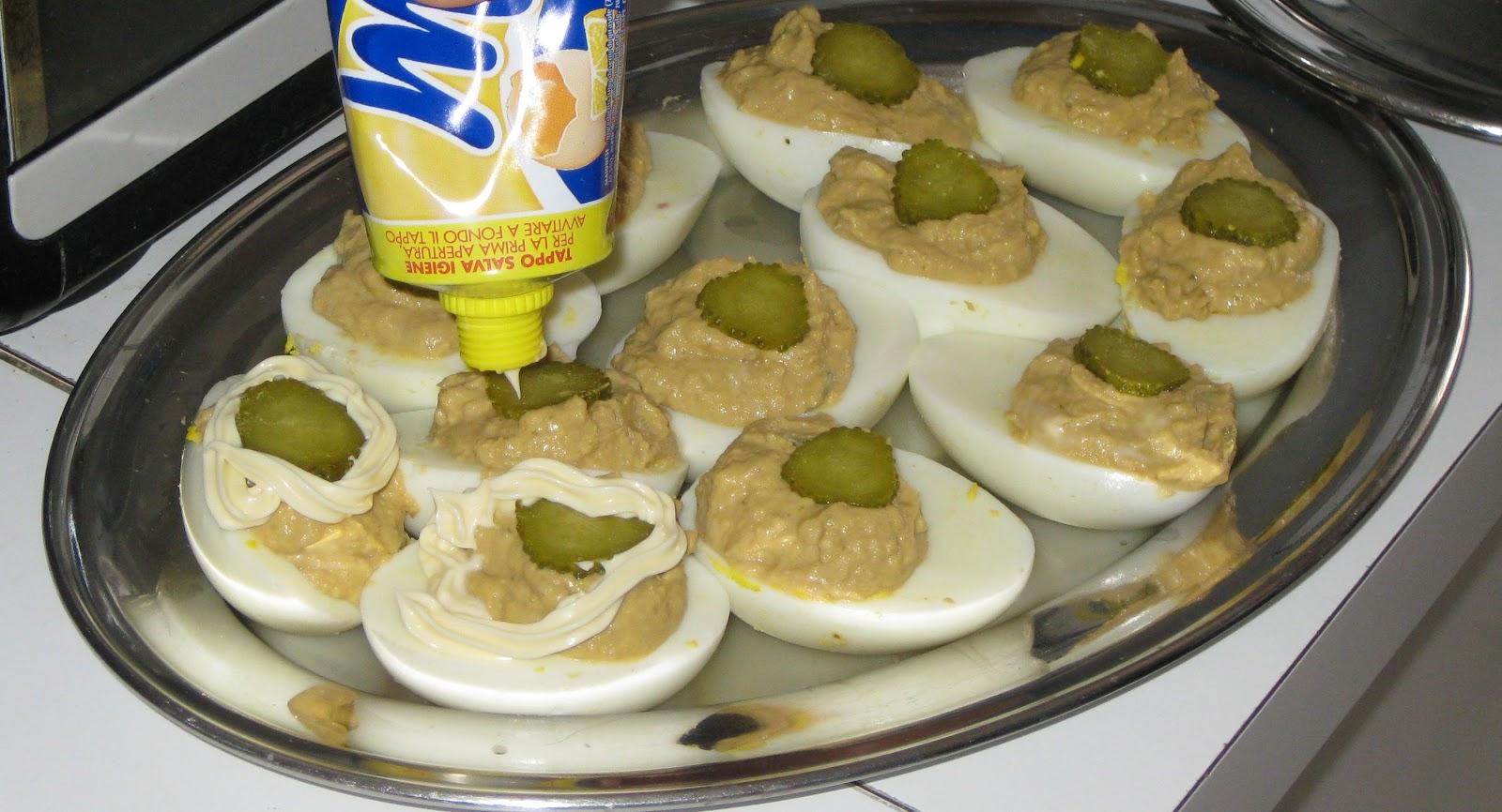 Ricette semplici veloci uova ripiene for Ricette veloci semplici