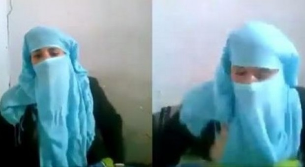 فيديو صادم : رجل يعتدي على زوجته بطريقة وحشية