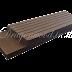 ไม้เทียม wpc ใช้สำหรับปิดขอบงานมี 4 สี ลายร่อง+ลายเสี้ยน ขนาด กว้าง7.2cmxหนา1cmxยาว220cm