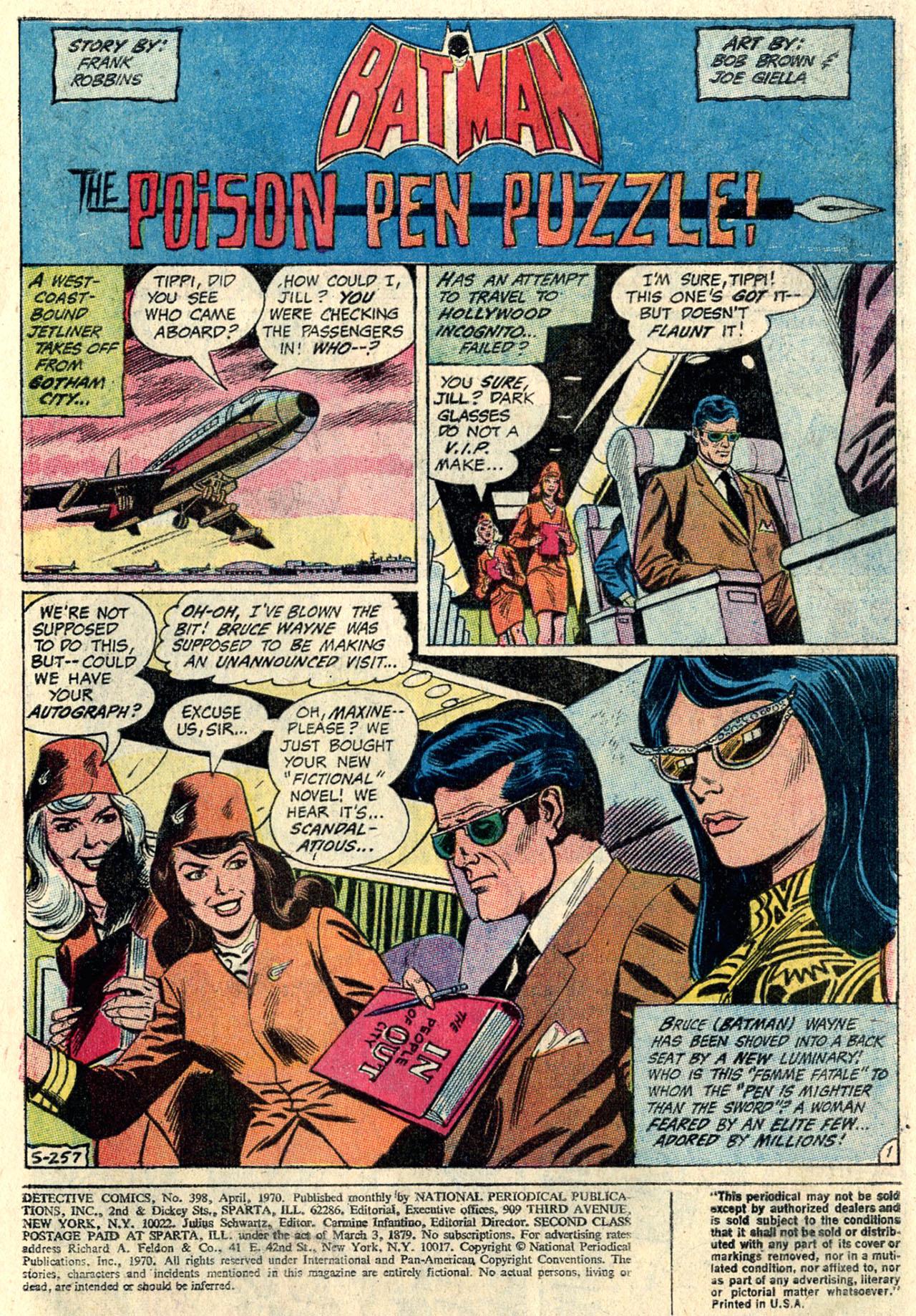 Detective Comics (1937) 398 Page 2