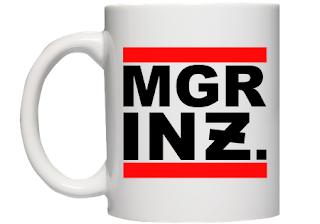kubek MGR INŻ - prezent dla magistra inżyniera