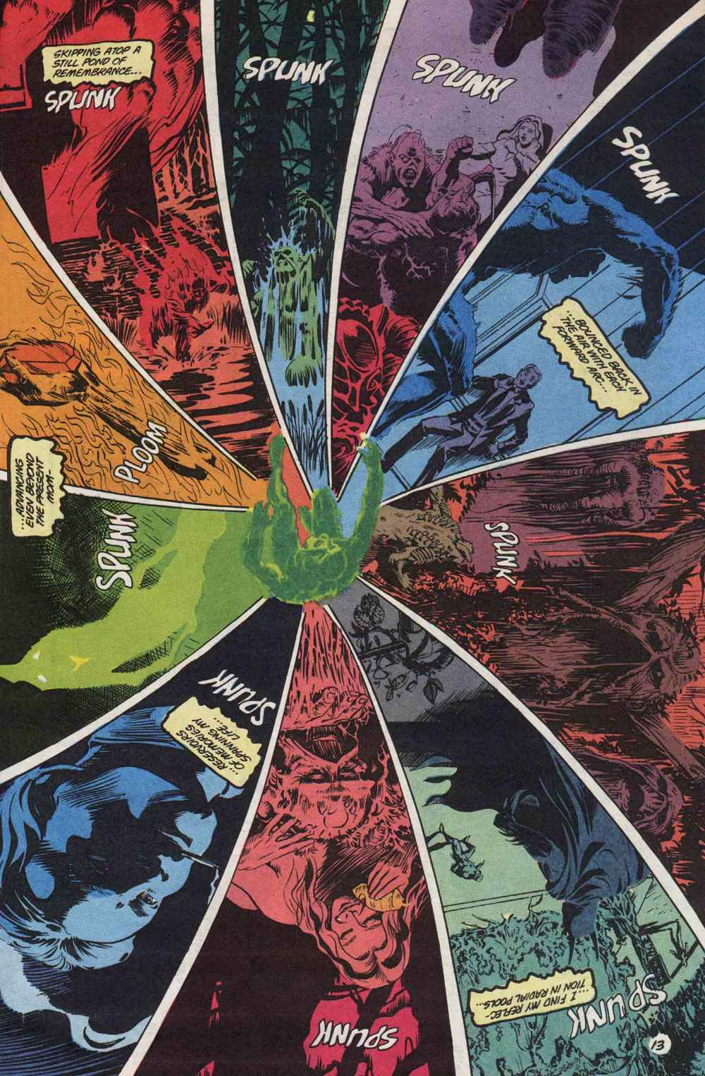 Swamp Thing (1982) Issue #89 #97 - English 14