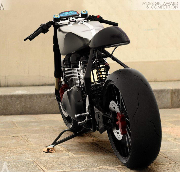Black Shadow H E Concept Rocketgarage Cafe Racer Magazine