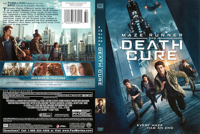 Maze Runner Death Cure DVD Cover