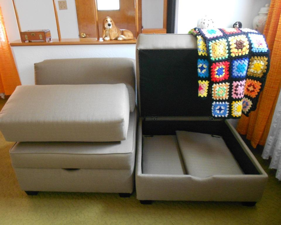 DuoBed Modular Multi-Functional Storage Sleeper Sofa