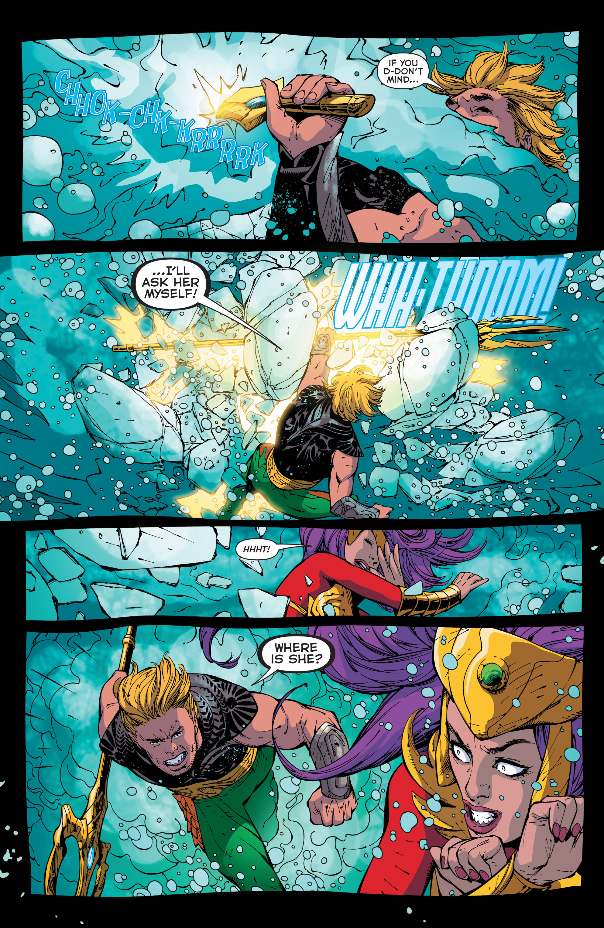 Read online Aquaman (2011) comic -  Issue #44 - 19