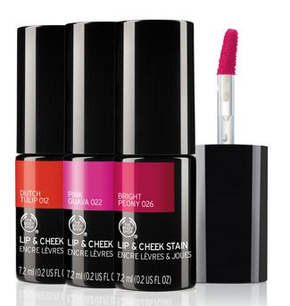 The Body Shop Lip & Cheek Stain - for a cheeky kiss of summer colour!