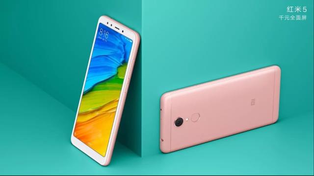 Foto-Foto Resmi Xiaomi Redmi 5 Mulai Beredar