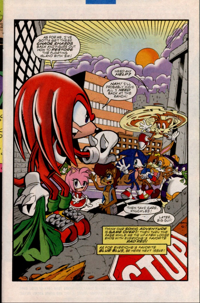 Read online Sonic The Hedgehog comic -  Issue #84 - 17