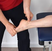 Care of ankle pain at home
