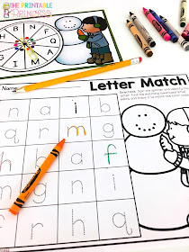 Looking for December math and literacy ideas for Kindergarten? Or perhaps you're on the lookout for something less Christmas that you can use all winter long. Either way - you're going to love this post! You'll find great math and ELA center ideas for December, January, or anytime there's snow on the ground in your area (or gingerbread in your heart)! Click through to also check out the free downloads. And many of these ideas can also be used in your preschool or 1st grade room. Check it out!