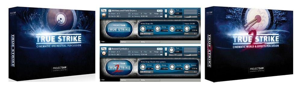 True Strike Instrumentos Orquestales de Percusión VST