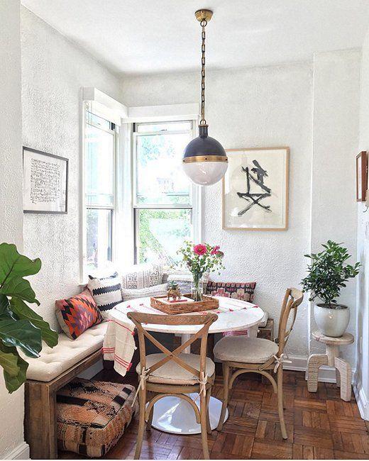 Inspiracion para poner una mesa comedor en un espacio pequeño - La ...