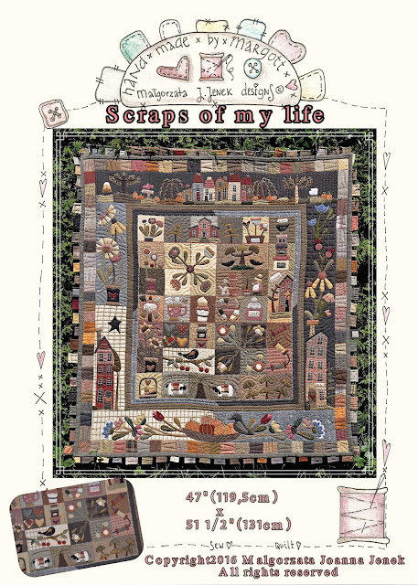 """Scraps of my life"" Quilt & Ring Quilt"