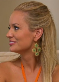 Emily Maynard Wearing Stella & Dot Garden Party Chandelier Earrings