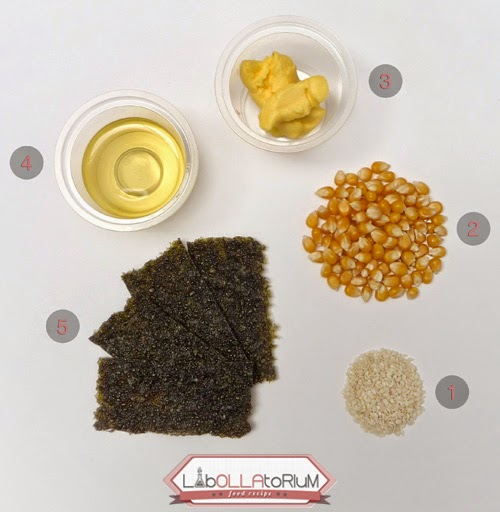 Ingredients - Pop Corn Nori Recipe - Labollatorium
