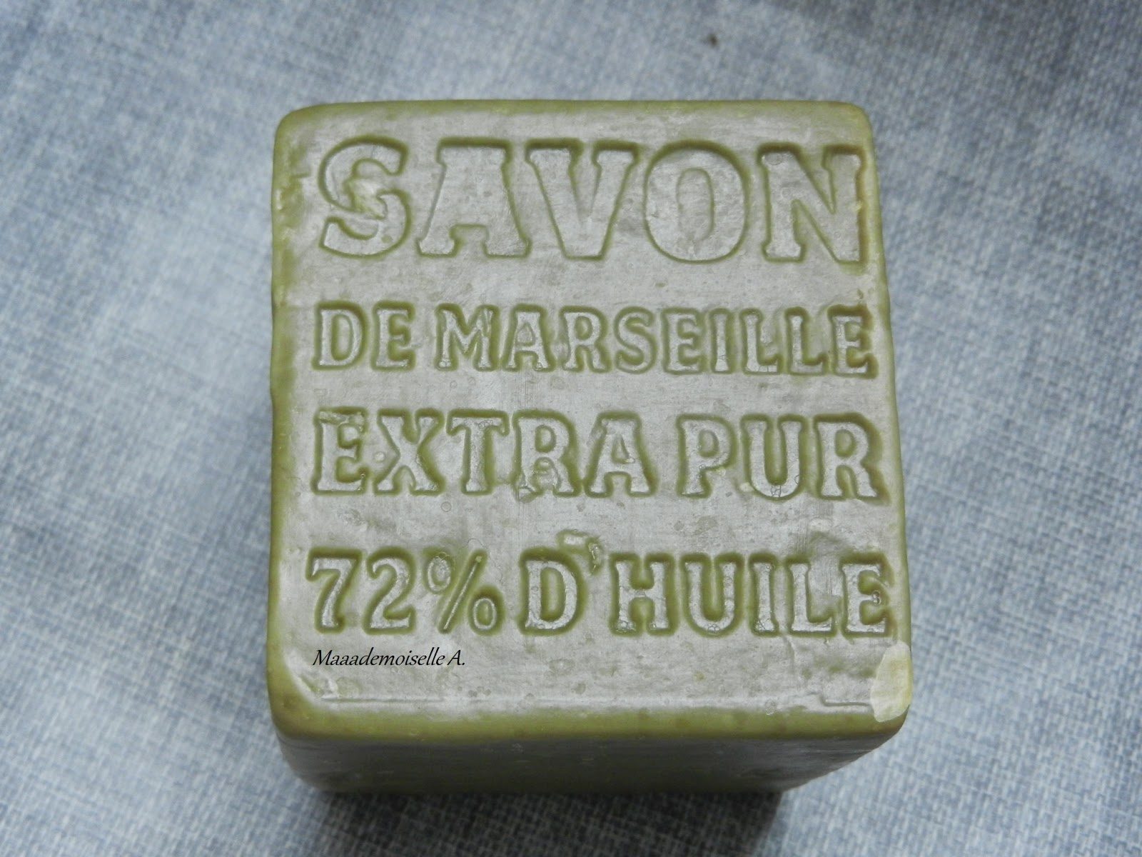 Un détachant naturel et efficace : le savon de Marseille