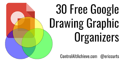 controlaltachieve.com - Eric - 30 Free Google Drawings Graphic Organizers