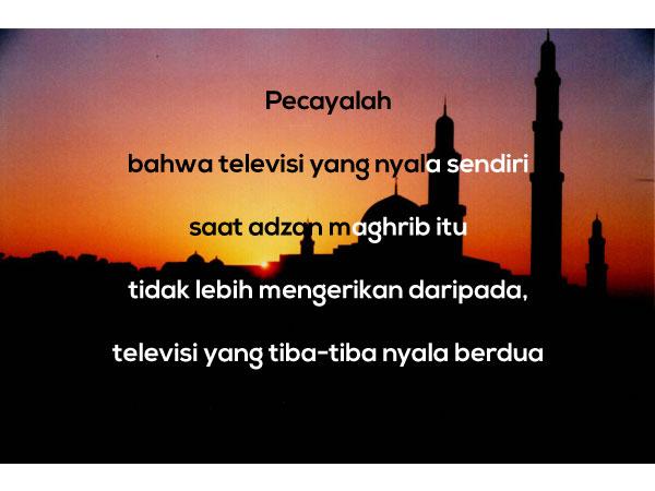 Gambar Kata Mutiara Islami versi Pepatah dan Petuah Lucu 7