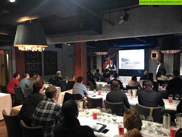El gurú mundial de los vinos volcánicos John Szabo imparte en Canadá una Master Class sobre Canary Wine