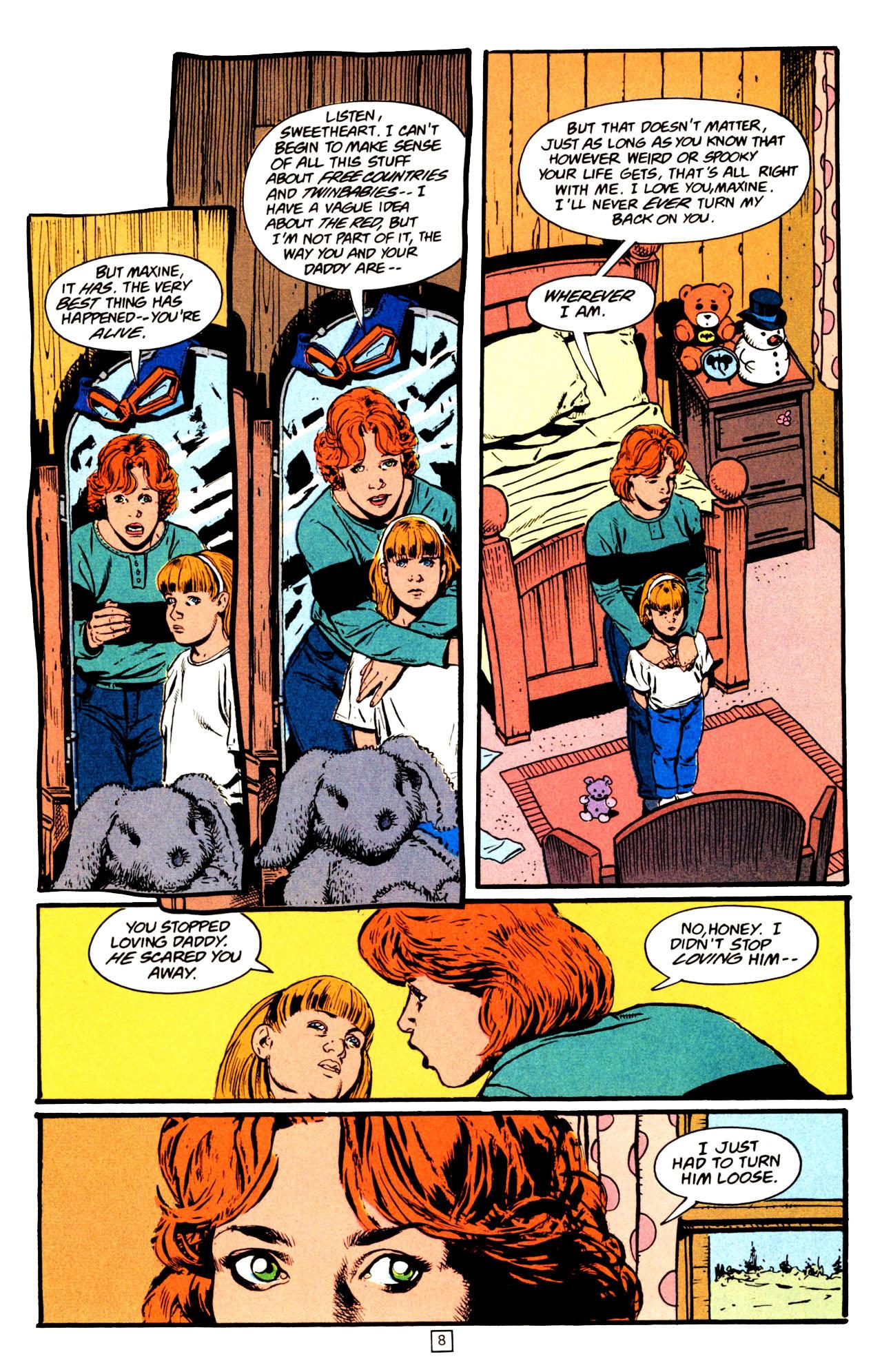 Read online Animal Man (1988) comic -  Issue #72 - 9