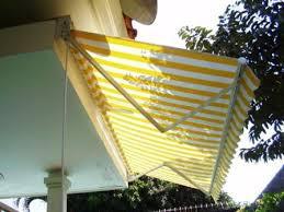 kanopi kain lipat / awning gulung