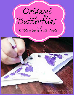 origami butterflies tutorial
