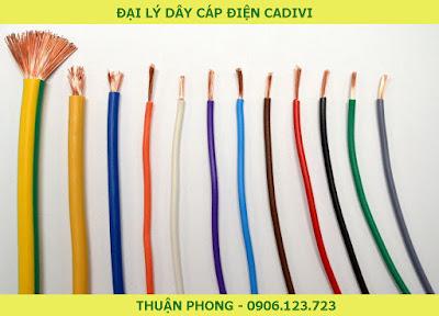 Đại lý dây cáp điện Cadivi tại Bình Dương 100% giá gốc