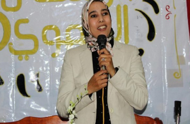 """البرلمانية المغربية """"ماء العينين"""" تقرّ بصحة صور باريس وبنكيران يدعمها"""