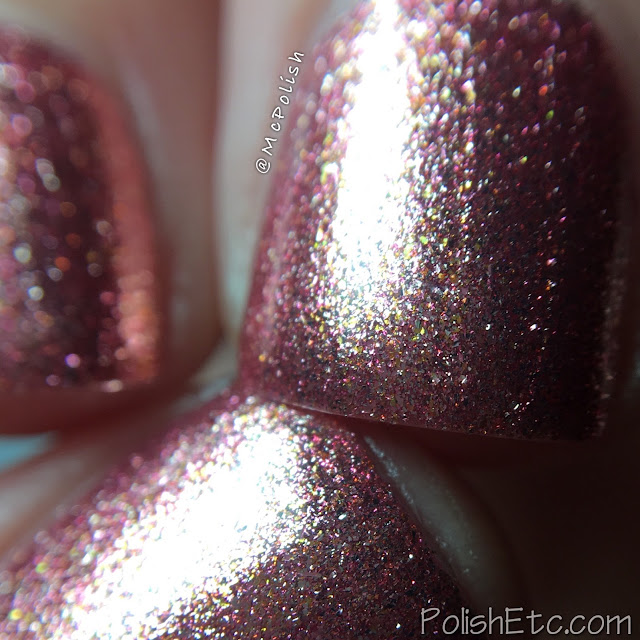 Pahlish - 12 Days of Christmas Collection - McPolish - Five Rose Gold Rings
