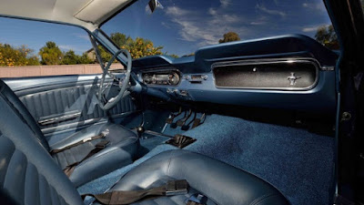 1965 Ford Mustang Prototype Interior Dashboard