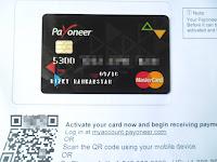 Cara Mendaftar Kartu Payoneer 100% Diterima Plus Saldo $25 Lengkap Dengan Gambar Update 2016