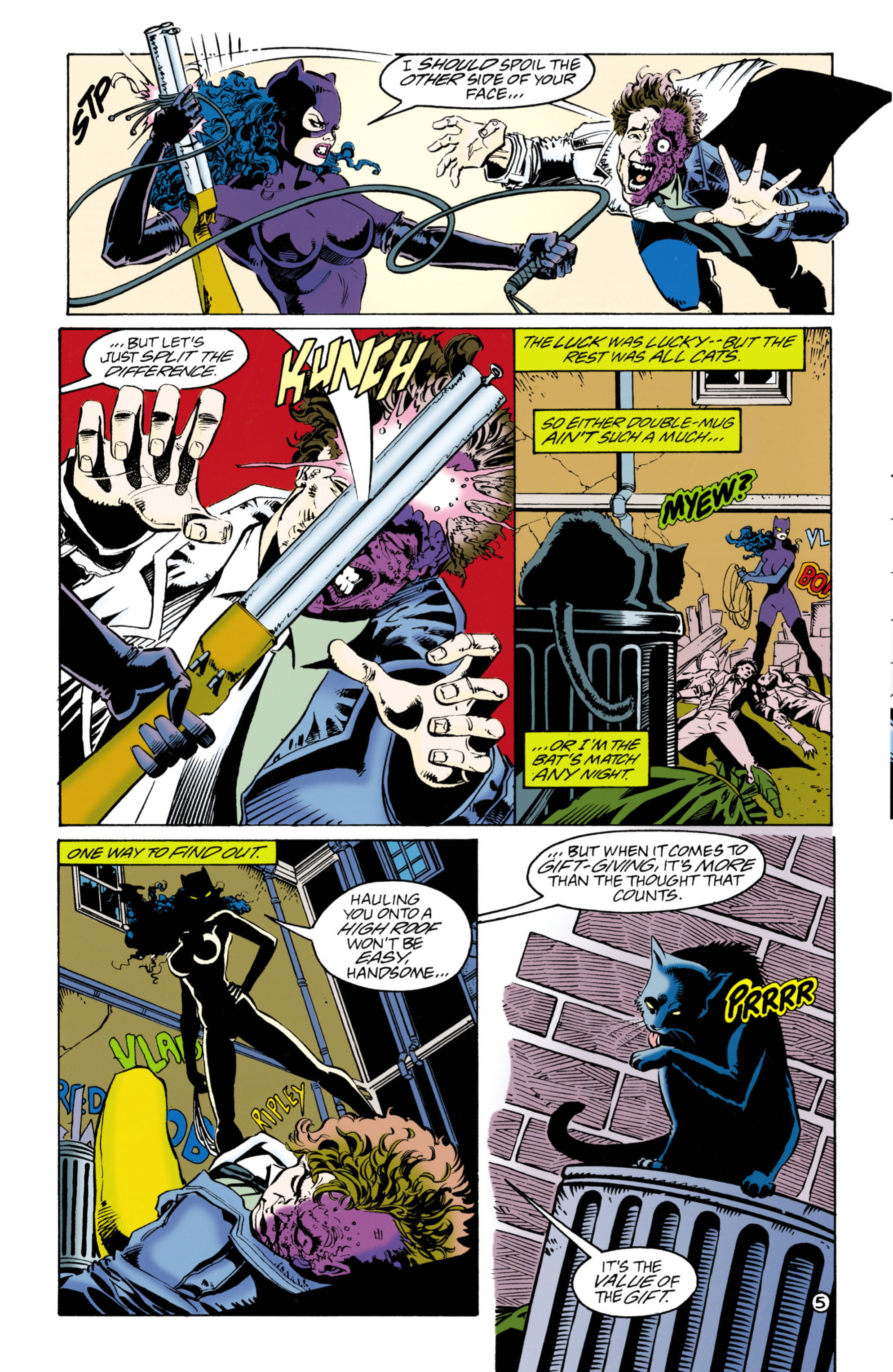 Catwoman (1993) Issue #40 #45 - English 6