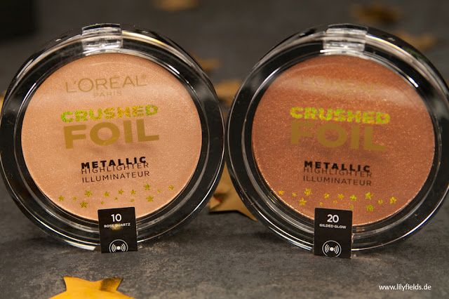 Crushed Foil - Metallic Highlighter