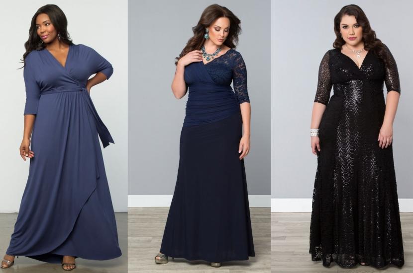 9263cfdff Vestidos fiesta y elegancia plus size