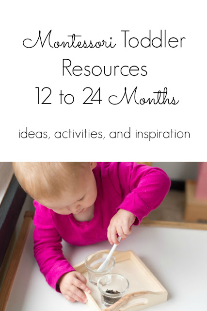 Montessori Young Toddler 12 To 24 Months